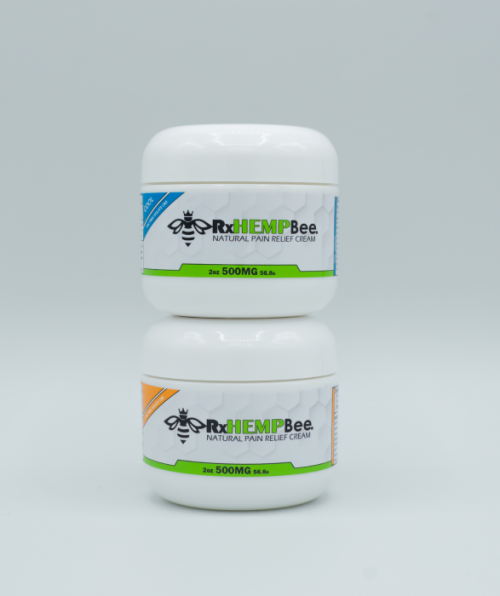 rxhemp-natural-medical-grade-topcial-thc-free-cbd-cream-products-500mg-warm-cool-combo-cbd-therapy-front