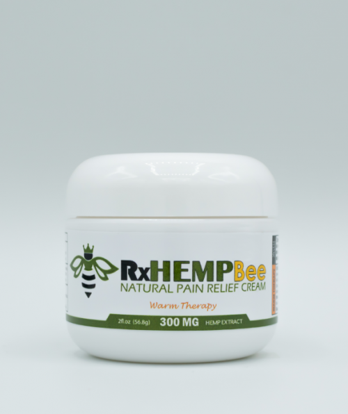 rxhemp-natural-medical-grade-topcial-thc-free-cbd-cream-products-300mg-cbd-warm-therapy- front-2oz