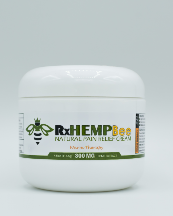 rxhemp-natural-medical-grade-topcial-thc-free-cbd-cream-products-300mg-cbd-warm-therapy- front-4oz